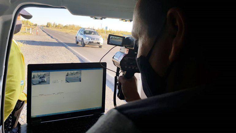 El radar móvil comenzará a hacer multas por exceso de velocidad