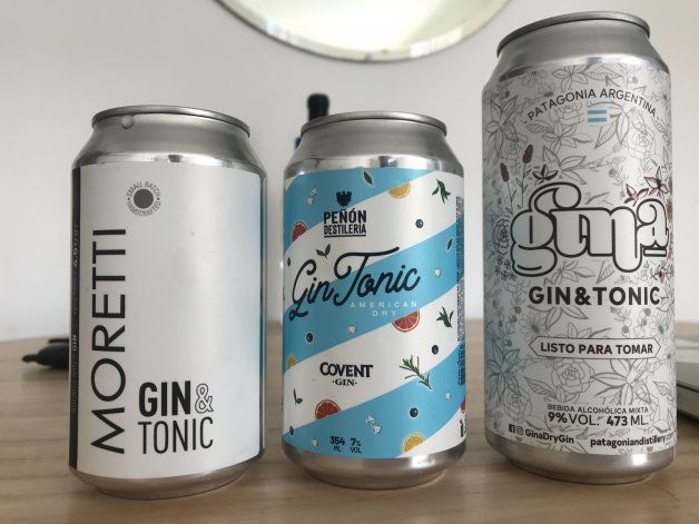 Gin tonic en lata: las tres mejores opciones