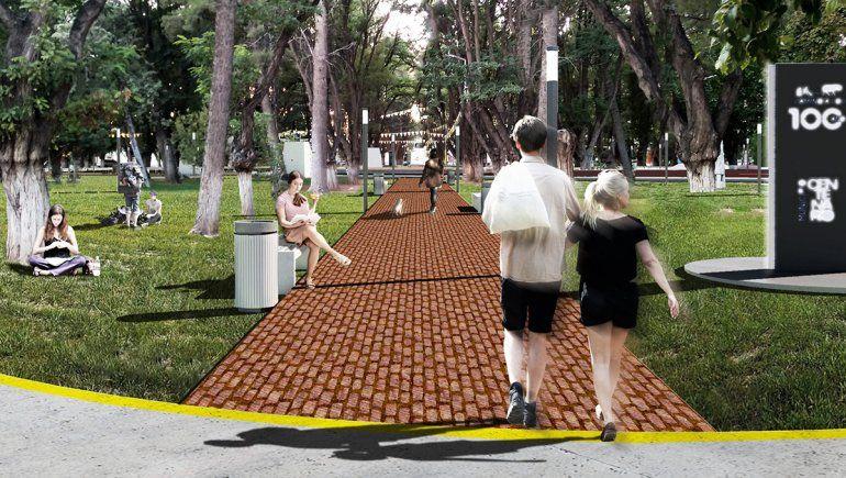 La Provincia remodelará la plaza principal de Centenario