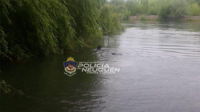 Hallaron muerto al hombre desaparecido en el río Neuquén