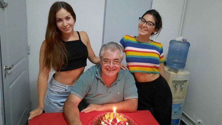 De izquierda a derecha: Yanina, Fabián y Gisella.