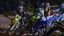 La final de las categorías principales no se pudo concretar por un corte de luz (Fotos Motocross Club Neuquén)