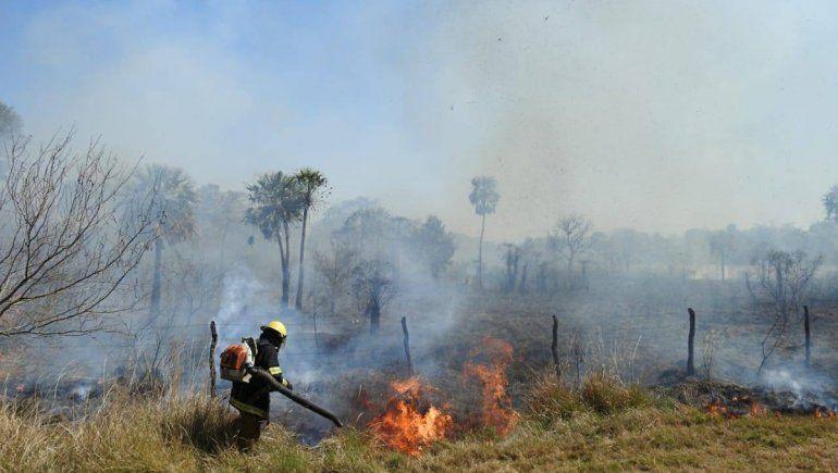 Catástrofe en una reserva en Corrientes