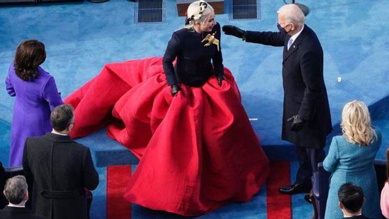 Los shows de Lady Gaga y Jennifer López en la asunción de Biden