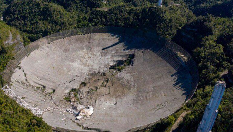 Puerto Rico: colapsó una plataforma de 900 toneladas