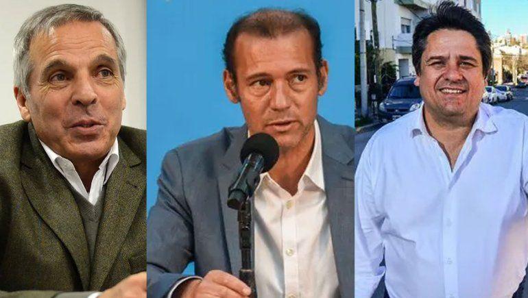 En semana aniversario Sapag, Gutiérrez y Gaido mostraron sus cartas