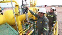 el mes de julio pone a prueba la produccion de gas