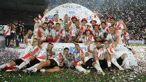 river goleo 5 a 0 a racing y es el campeon de la supercopa