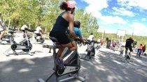 gran interes por las clases de bicis fijas en los balnearios