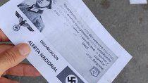 la justicia investigara quien hizo propaganda nazi en rio negro