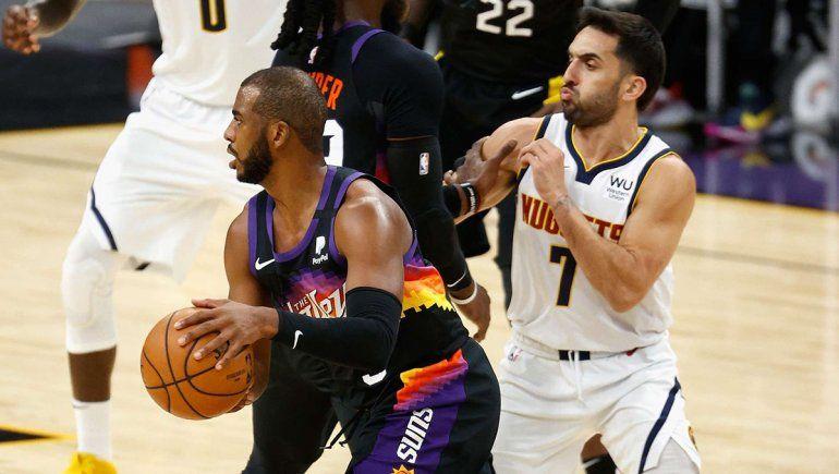 Los Nuggets de Campazzo inician la serie frente a los Suns