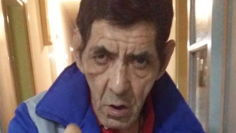 Rubén, el hombre de 56 años desaparecido en Plaza Huincul. Roma estaba en su operativo de búsqueda.