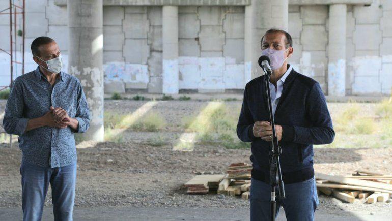 Gutiérrez anunció la extensión de la multitrocha de la 22 hasta Cutral Co