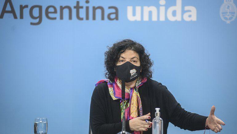 Vizzotti: Ni Pfizer pidió los glaciares ni el Gobierno coimas