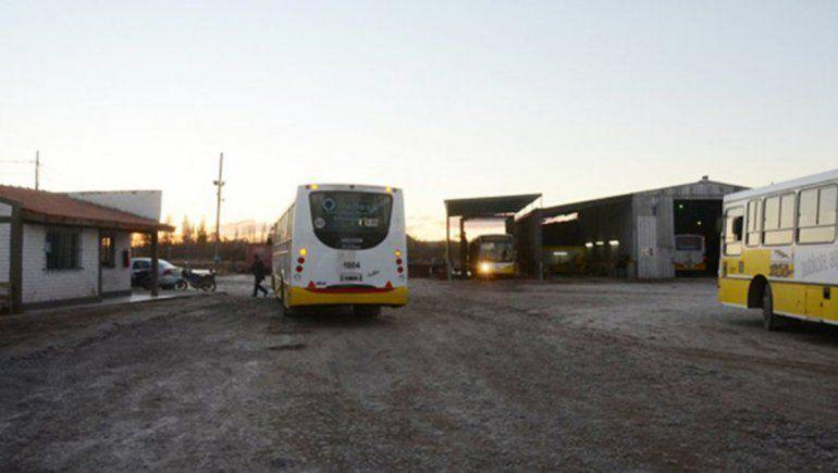 Sin colectivos porque Autobuses Neuquén no paga las cuotas alimentarias