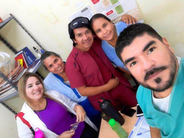 Adela Sanagachi rindió su última prueba y se graduó de enfermera en Formosa