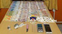 zapala: hallaron marihuana en un kiosco narco