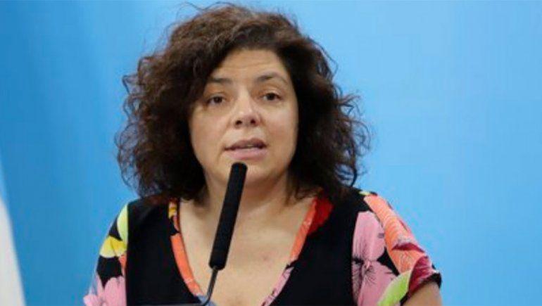 La flamante ministra de Salud dio positivo por COVID-19