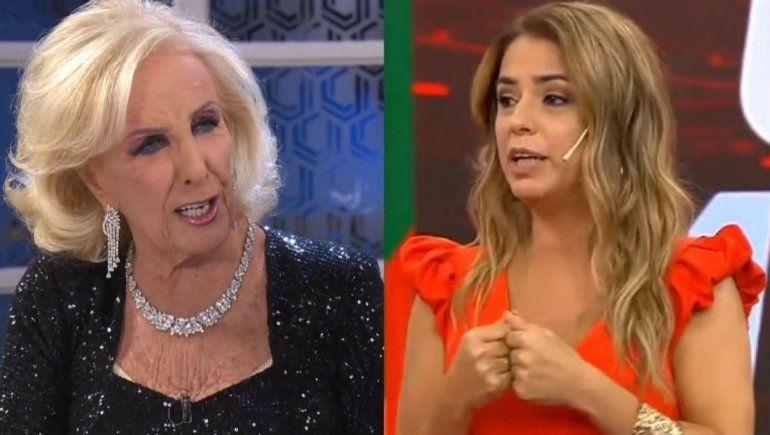 Marina Calabró no encaja con Mirtha