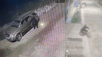 video: ladrones escrachados al robar en barrio mercantiles
