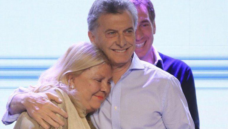Macri bancó a Lilita Carrió de la persecución de Cristina