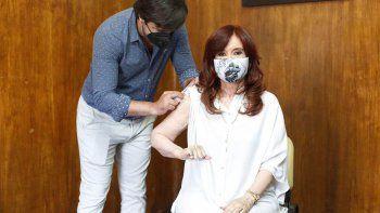 Cristina Fernández de Kirchner se aplicó la vacuna Sputnik V