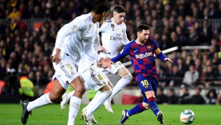 Barcelona-Real Madrid, clásico empate en un clima muy tenso