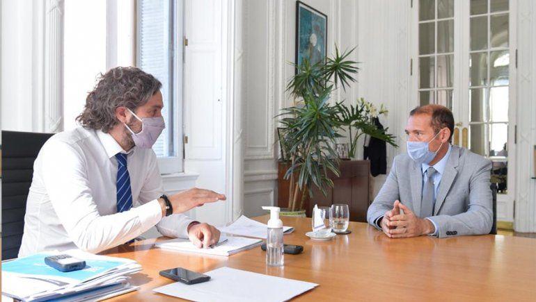 El gobernador se reunió con Cafiero en Casa Rosada: ¿de qué hablaron?