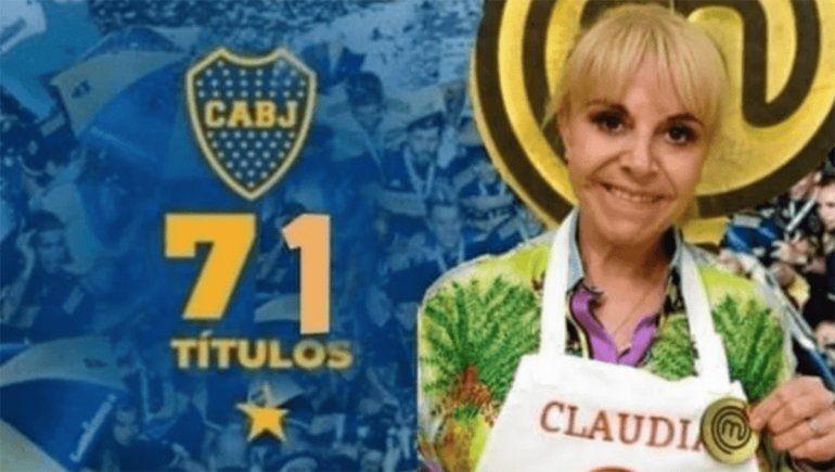 Boca no se salvó de los memes, tras el triunfo de Claudia en MasterChef