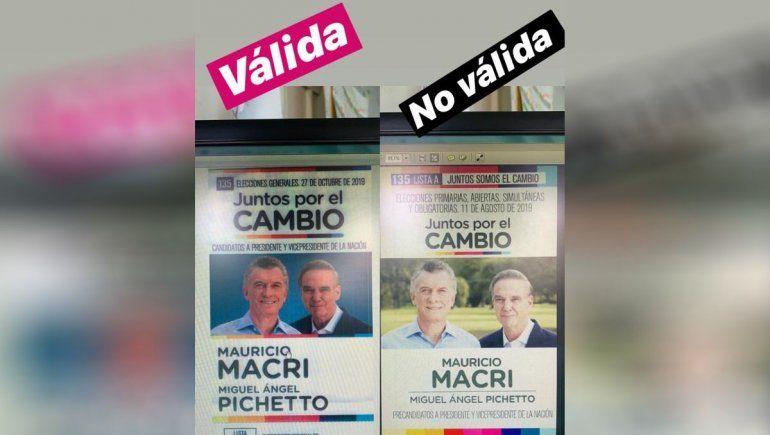 Advierten que los votos realizados con boletas de las PASO serán anulados en Neuquén