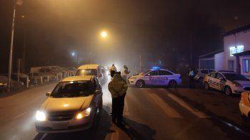 Ni el frío ni la niebla pararon los controles de alcoholemia en las rutas