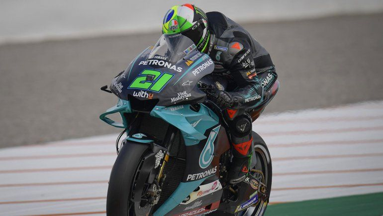 Franco Morbidelli es el poleman del Moto GP en Valencia
