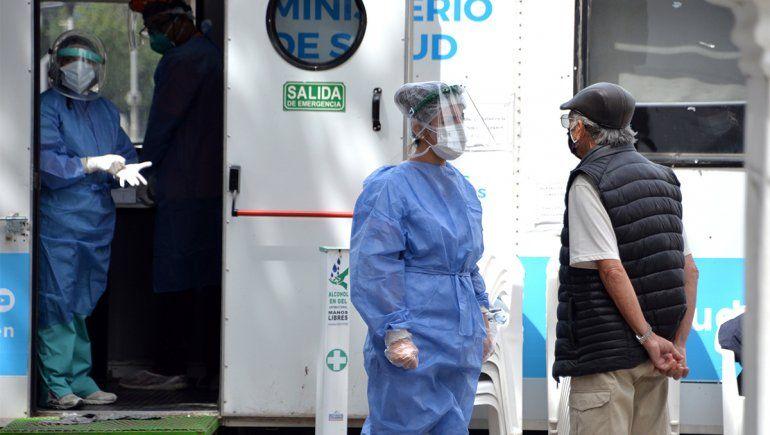 En Neuquén hubo 162 nuevos casos y cinco muertos por Covid