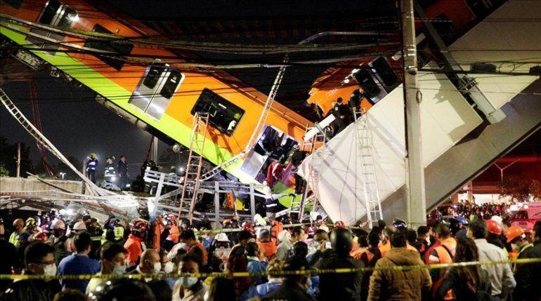 Tragedia ferroviaria en México: el colapso de un puente dejó 23 muertos