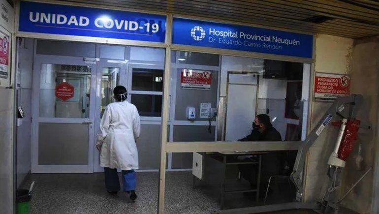 Creció la cantidad de neuquinos con coronavirus internados en terapia intensiva