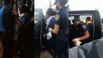 Detuvieron a Dolores Etchevehere y los militantes de Grabois se retiraron
