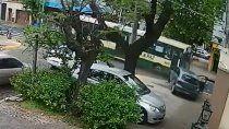 video: colectivero borracho choco un auto y mato un hombre