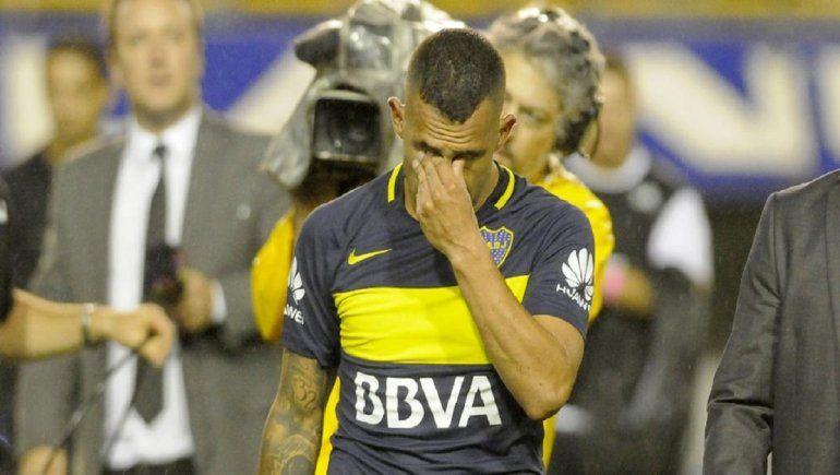 Carlos Tevez, delantero de Boca, no jugará contra Newells.