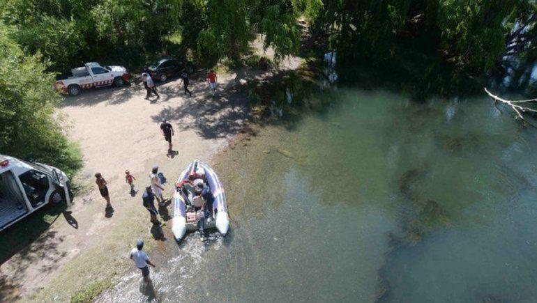 Aún no encuentran al joven desaparecido en el río Limay