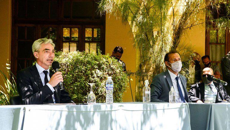 Omar Gutiérrez lamentó la muerte de Mario Meoni