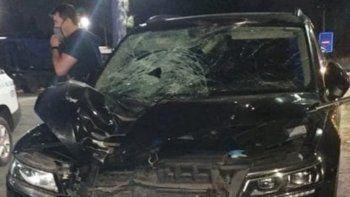Un ex arquero de la Selección atropelló y mató a un hombre