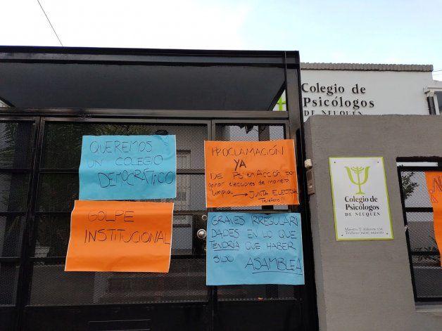 Colegio de Psicólogos.