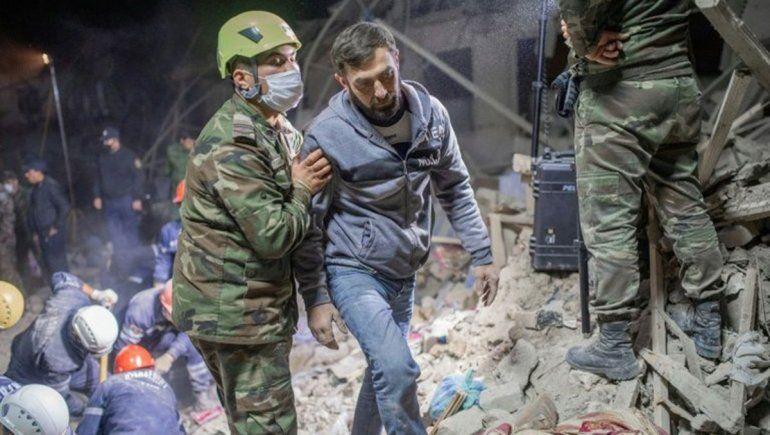 Mueren 13 civiles y Azerbaiyán jura que los vengará