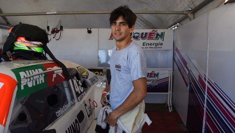 Camilo Echevarría: Me encantaría correr en Neuquén pero no puedo