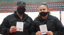 Neuquén vacunó al 62 por ciento de la Policía provincial.