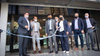 Inauguran una nueva sucursal del BPN exclusiva para empresas