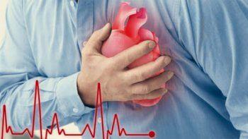 dolor profundo, opresivo, dificultad para respirar, fatiga: alerta corazon