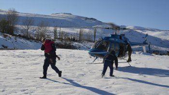 Así fue el rescate de la familia varada tres días en la nieve