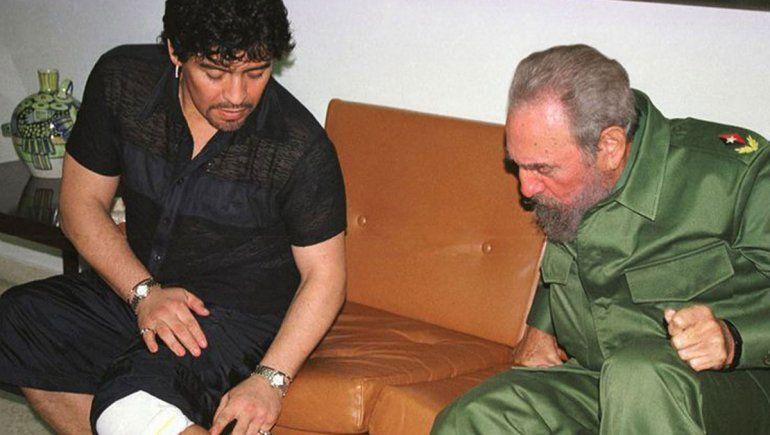 Diego y Fidel: el vínculo entre dos amigos que murieron el mismo día