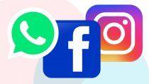 despues de 7 horas, volvieron whatsapp, instagram y facebook